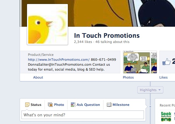 Facebook Business Timeline: One Minute Tip to Get Around the Facebook Cover Photo Rules