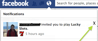 2 Block Facebook game requests-hover over X